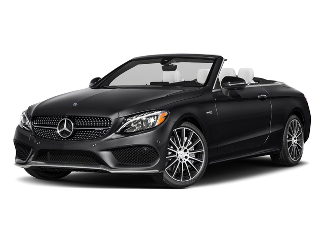 Black 2018 Mercedes-Benz C-Class Pictures C-Class Convertible 2D C43 AMG AWD V6 Turbo photos front view