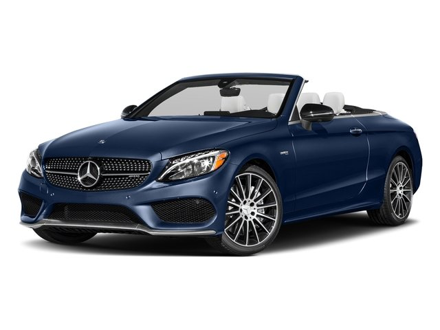 Brilliant Blue Metallic 2018 Mercedes-Benz C-Class Pictures C-Class Convertible 2D C43 AMG AWD V6 Turbo photos front view