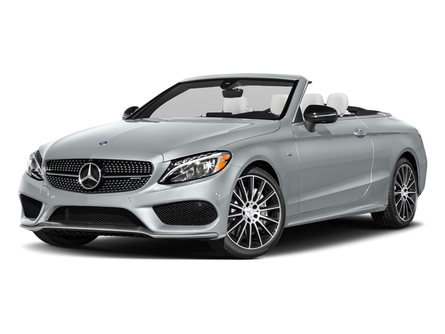 Diamond Silver Metallic 2018 Mercedes-Benz C-Class Pictures C-Class Convertible 2D C43 AMG AWD V6 Turbo photos front view