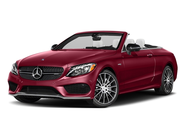 designo Cardinal Red Metallic 2018 Mercedes-Benz C-Class Pictures C-Class Convertible 2D C43 AMG AWD V6 Turbo photos front view