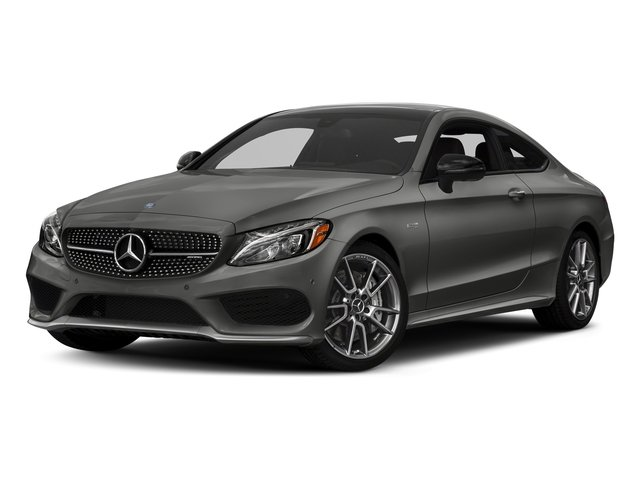 designo Selenite Grey Magno (Matte Finish) 2018 Mercedes-Benz C-Class Pictures C-Class AMG C 43 4MATIC Coupe photos front view