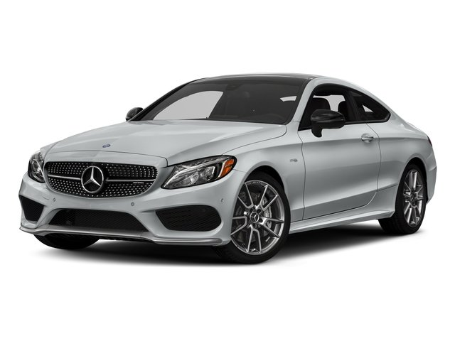 Iridium Silver Metallic 2018 Mercedes-Benz C-Class Pictures C-Class AMG C 43 4MATIC Coupe photos front view