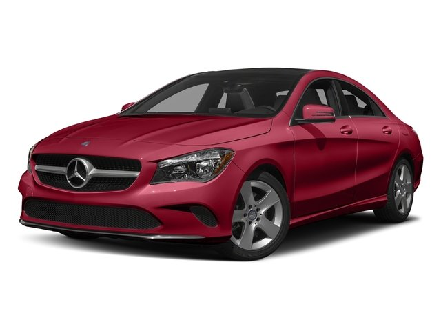 Jupiter Red 2018 Mercedes-Benz CLA Pictures CLA CLA 250 4MATIC Coupe photos front view