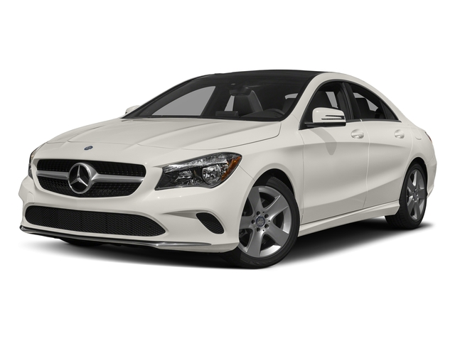Cirrus White 2018 Mercedes-Benz CLA Pictures CLA CLA 250 4MATIC Coupe photos front view