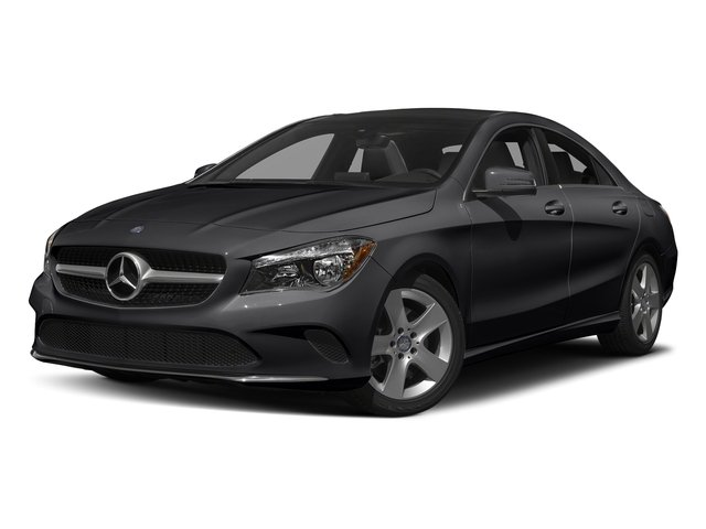 Night Black 2018 Mercedes-Benz CLA Pictures CLA CLA 250 4MATIC Coupe photos front view