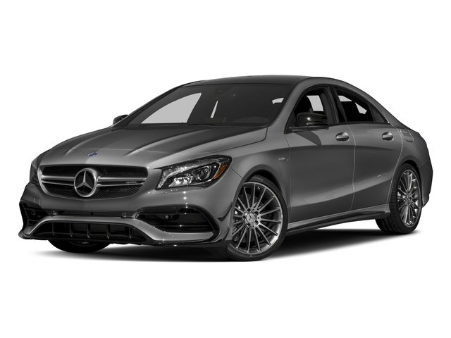 Mountain Grey Metallic 2018 Mercedes-Benz CLA Pictures CLA AMG CLA 45 4MATIC Coupe photos front view