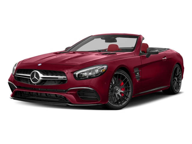 designo Cardinal Red Metallic 2018 Mercedes-Benz SL Pictures SL AMG SL 63 Roadster photos front view