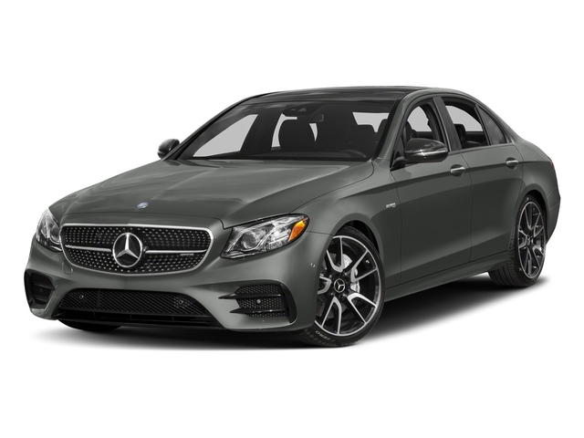 designo Selenite Grey Magno 2018 Mercedes-Benz E-Class Pictures E-Class Sedan 4D E43 AMG AWD V6 Turbo photos front view