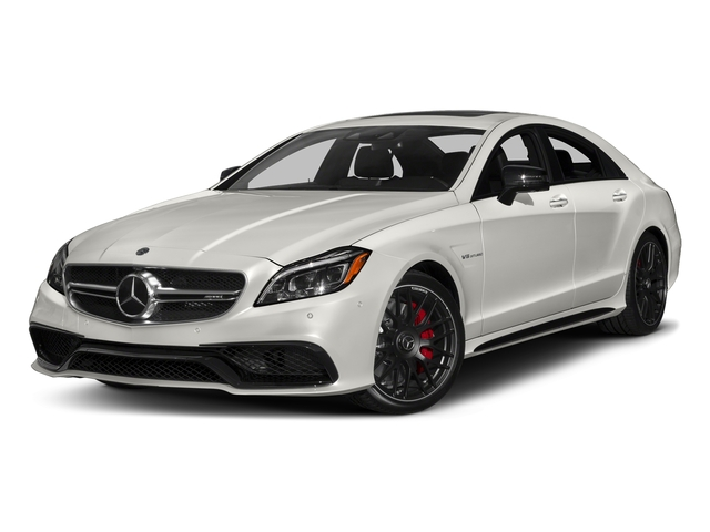designo Magno Cashmere White (Matte Finish) 2018 Mercedes-Benz CLS Pictures CLS AMG CLS 63 S 4MATIC Coupe photos front view