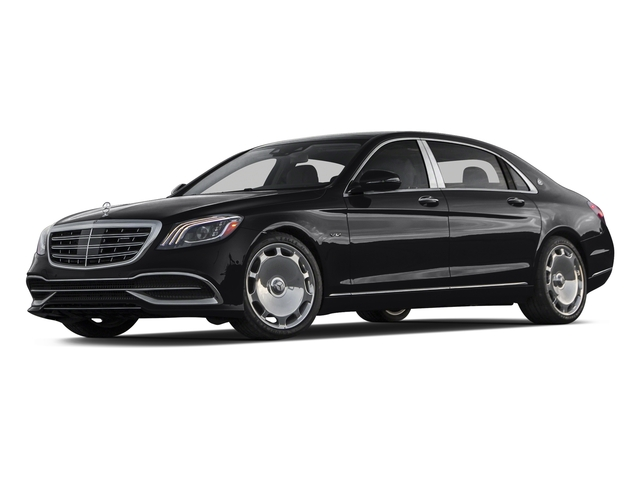 Black 2018 Mercedes-Benz S-Class Pictures S-Class Maybach S 650 Sedan photos front view