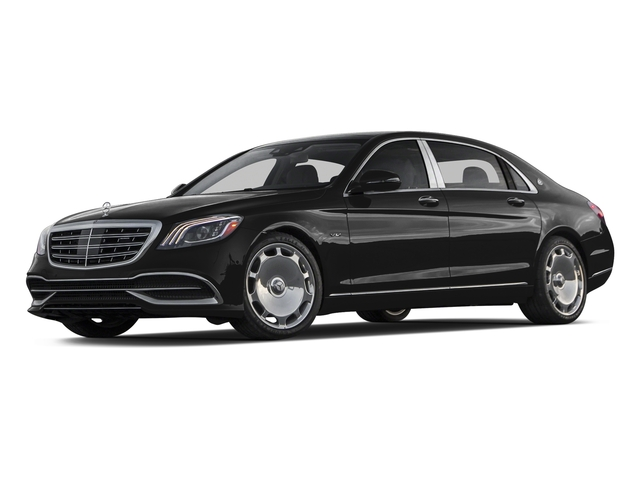 Obsidian Black Metallic 2018 Mercedes-Benz S-Class Pictures S-Class Maybach S 650 Sedan photos front view