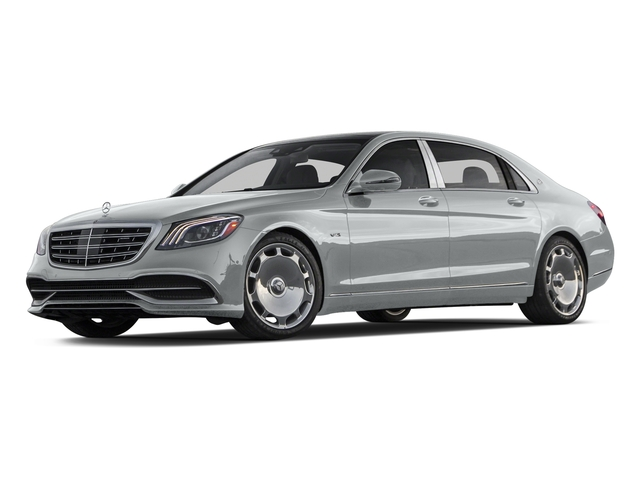 Iridium Silver Metallic 2018 Mercedes-Benz S-Class Pictures S-Class Maybach S 650 Sedan photos front view