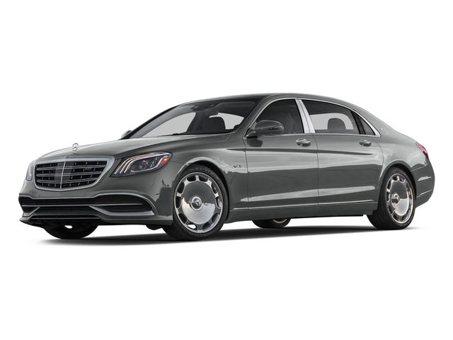 Palladium Silver Metallic 2018 Mercedes-Benz S-Class Pictures S-Class Maybach S 650 Sedan photos front view
