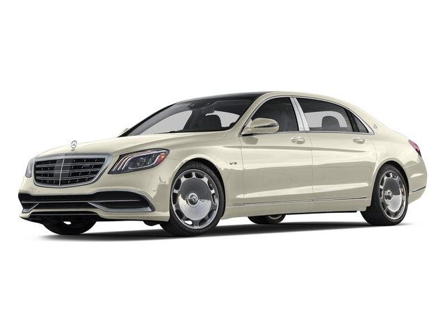 designo Diamond White 2018 Mercedes-Benz S-Class Pictures S-Class Maybach S 650 Sedan photos front view