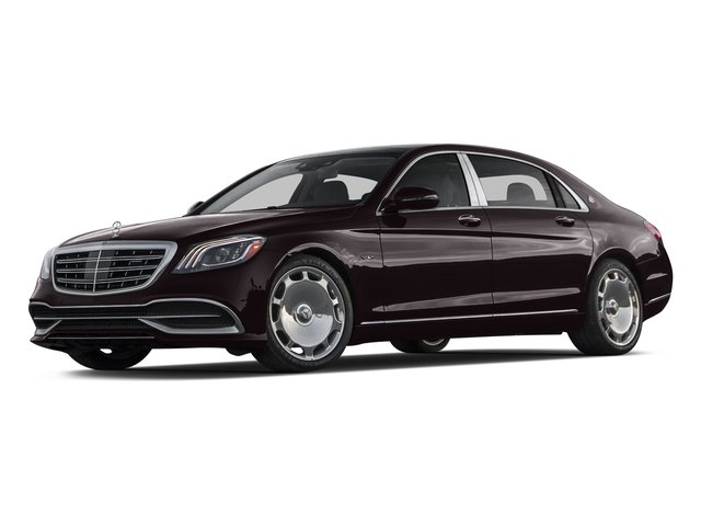 Ruby Black Metallic 2018 Mercedes-Benz S-Class Pictures S-Class Maybach S 650 Sedan photos front view