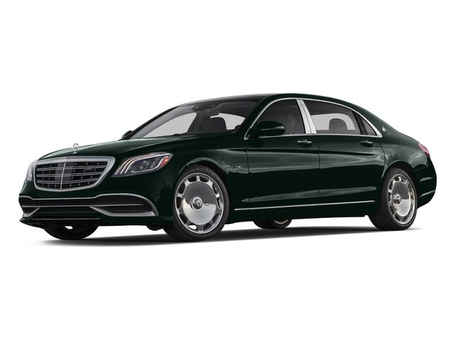 Emerald Green Metallic 2018 Mercedes-Benz S-Class Pictures S-Class Maybach S 650 Sedan photos front view