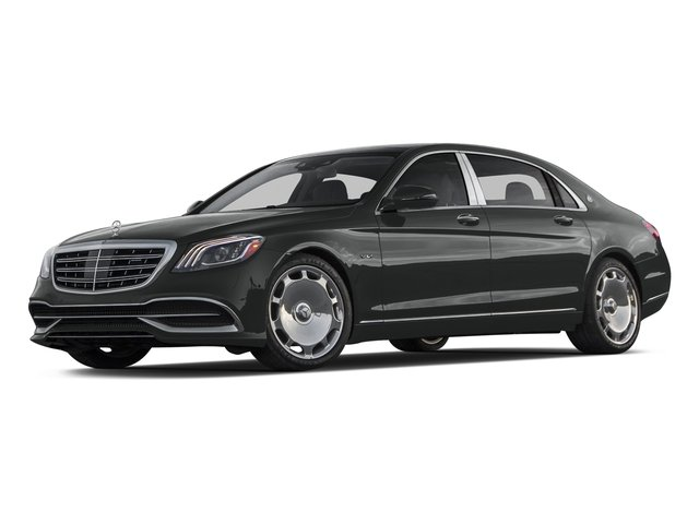 Selenite Grey Metallic 2018 Mercedes-Benz S-Class Pictures S-Class Maybach S 650 Sedan photos front view