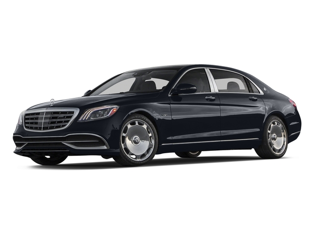 Anthracite Blue Metallic 2018 Mercedes-Benz S-Class Pictures S-Class Maybach S 650 Sedan photos front view