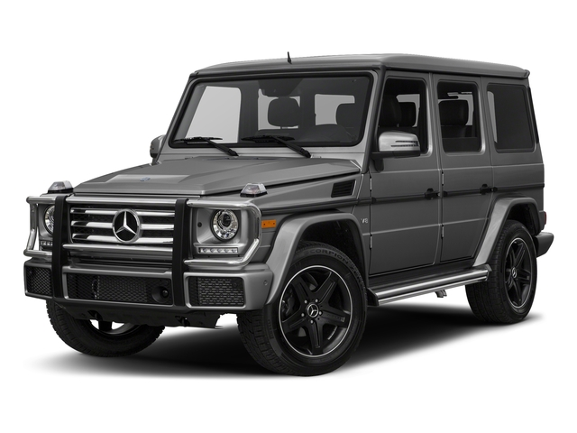 designo Graphite Metallic 2018 Mercedes-Benz G-Class Pictures G-Class 4 Door Utility 4Matic photos front view