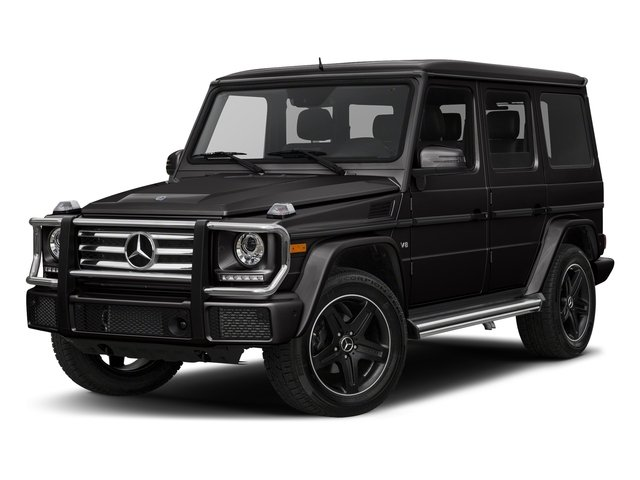 designo Platinum Black Metallic 2018 Mercedes-Benz G-Class Pictures G-Class G 550 4MATIC SUV photos front view