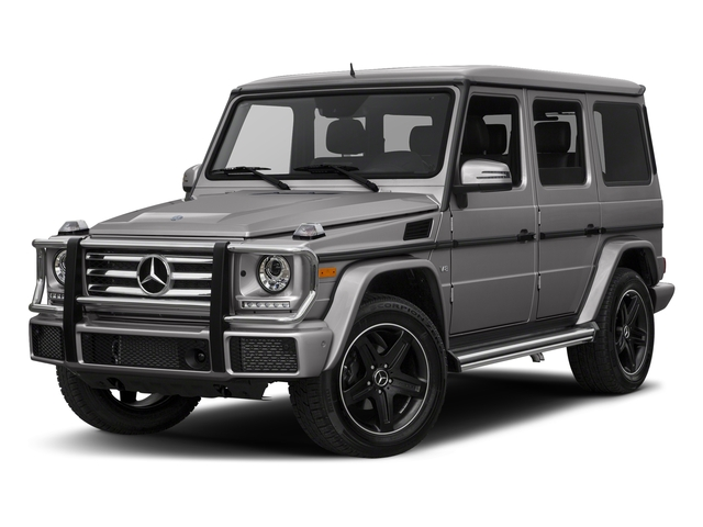 designo Platinum Magno 2018 Mercedes-Benz G-Class Pictures G-Class G 550 4MATIC SUV photos front view