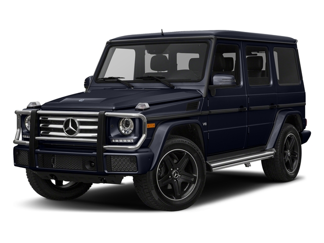 Capri Blue Metallic 2018 Mercedes-Benz G-Class Pictures G-Class 4 Door Utility 4Matic photos front view