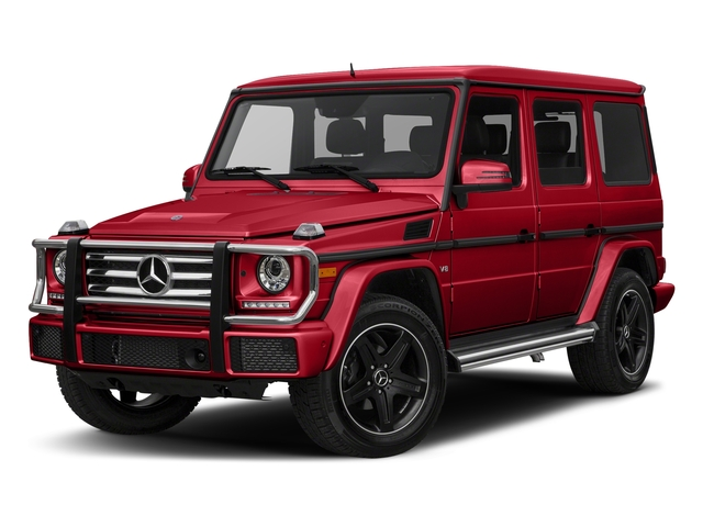 designo Manufaktur Magma Red 2018 Mercedes-Benz G-Class Pictures G-Class G 550 4MATIC SUV photos front view