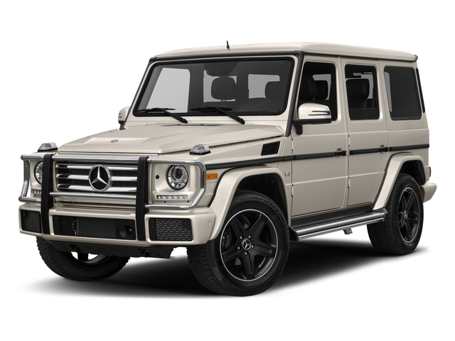designo Manufaktur Desert Silver Metallic 2018 Mercedes-Benz G-Class Pictures G-Class 4 Door Utility 4Matic photos front view
