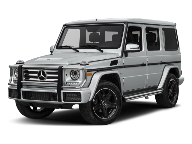 Iridium Silver Metallic 2018 Mercedes-Benz G-Class Pictures G-Class 4 Door Utility 4Matic photos front view