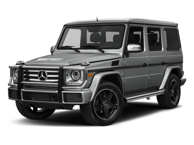 Palladium Silver Metallic 2018 Mercedes-Benz G-Class Pictures G-Class 4 Door Utility 4Matic photos front view