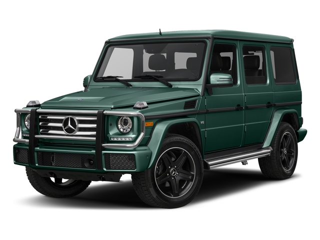 designo Manufaktur Agate Green 2018 Mercedes-Benz G-Class Pictures G-Class G 550 4MATIC SUV photos front view