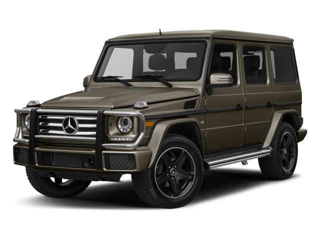 Indium Grey Metallic 2018 Mercedes-Benz G-Class Pictures G-Class G 550 4MATIC SUV photos front view