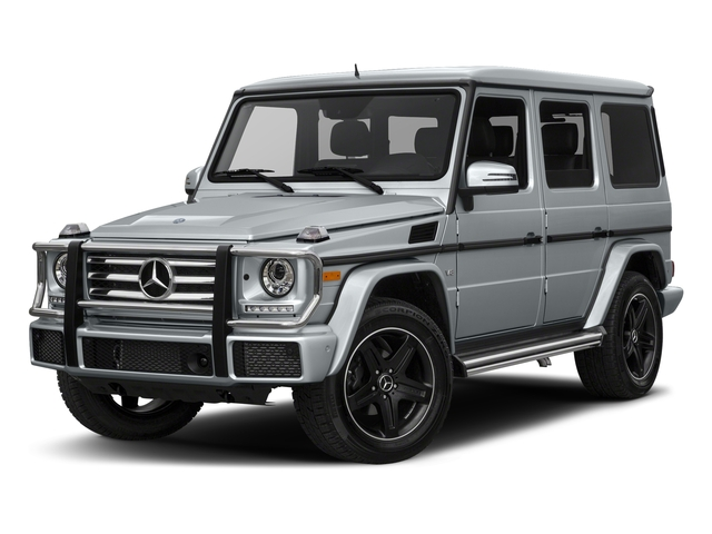 Diamond Silver Metallic 2018 Mercedes-Benz G-Class Pictures G-Class G 550 4MATIC SUV photos front view