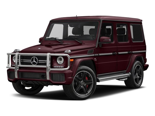 designo Mystic Red Metallic 2018 Mercedes-Benz G-Class Pictures G-Class AMG G 63 4MATIC SUV photos front view