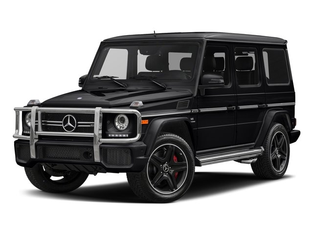 Black 2018 Mercedes-Benz G-Class Pictures G-Class AMG G 63 4MATIC SUV photos front view