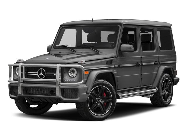 designo Graphite Metallic 2018 Mercedes-Benz G-Class Pictures G-Class AMG G 63 4MATIC SUV photos front view