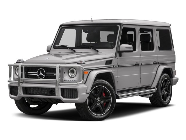 designo Platinum Magno 2018 Mercedes-Benz G-Class Pictures G-Class AMG G 63 4MATIC SUV photos front view