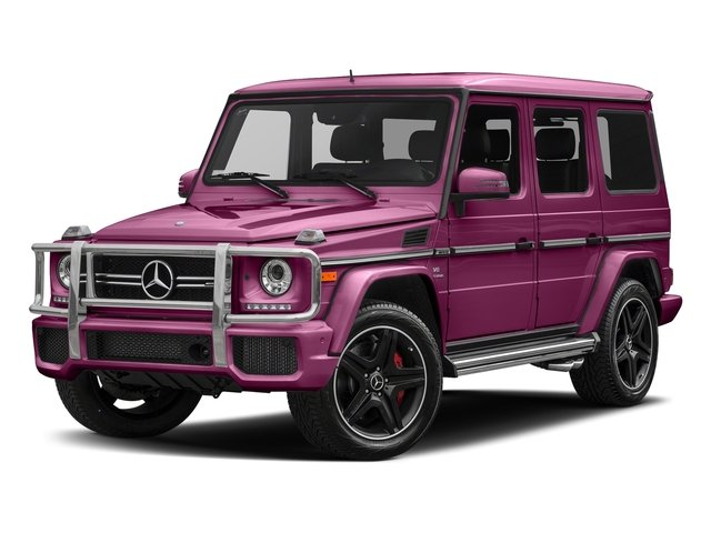 Galaticbeam 2018 Mercedes-Benz G-Class Pictures G-Class AMG G 63 4MATIC SUV photos front view