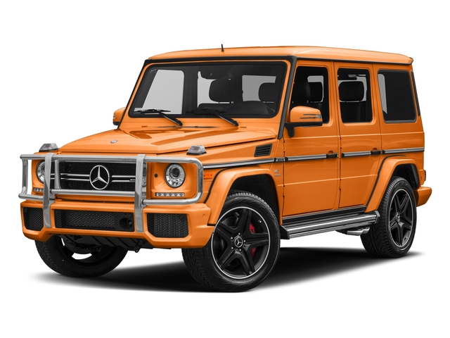 Sunsetbeam 2018 Mercedes-Benz G-Class Pictures G-Class AMG G 63 4MATIC SUV photos front view