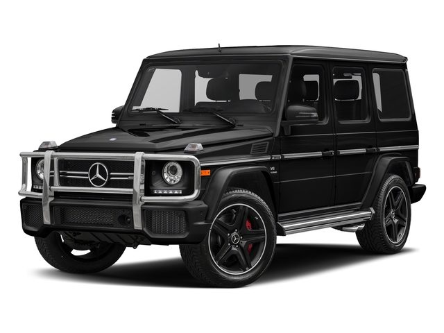 Obsidian Black Metallic 2018 Mercedes-Benz G-Class Pictures G-Class AMG G 63 4MATIC SUV photos front view