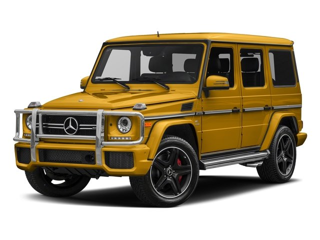 Solarbeam 2018 Mercedes-Benz G-Class Pictures G-Class AMG G 63 4MATIC SUV photos front view