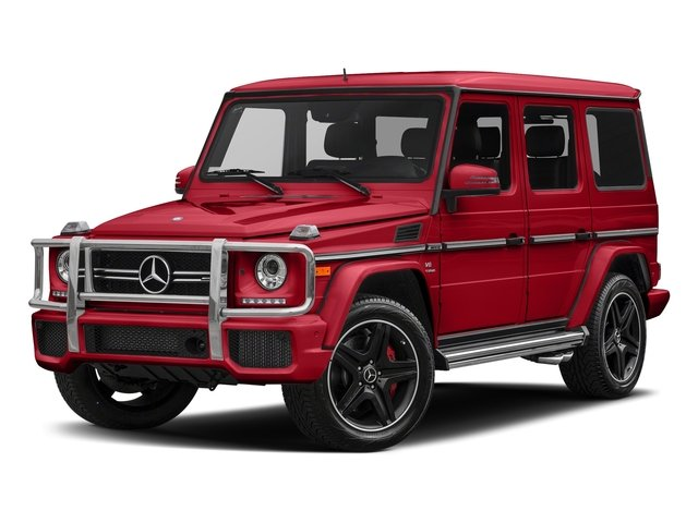 designo Manufaktur Magma Red 2018 Mercedes-Benz G-Class Pictures G-Class AMG G 63 4MATIC SUV photos front view