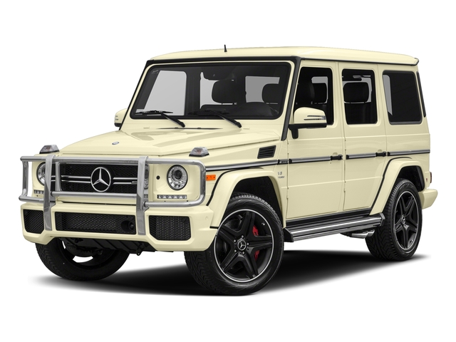 designo Manufaktur Light Ivory 2018 Mercedes-Benz G-Class Pictures G-Class AMG G 63 4MATIC SUV photos front view