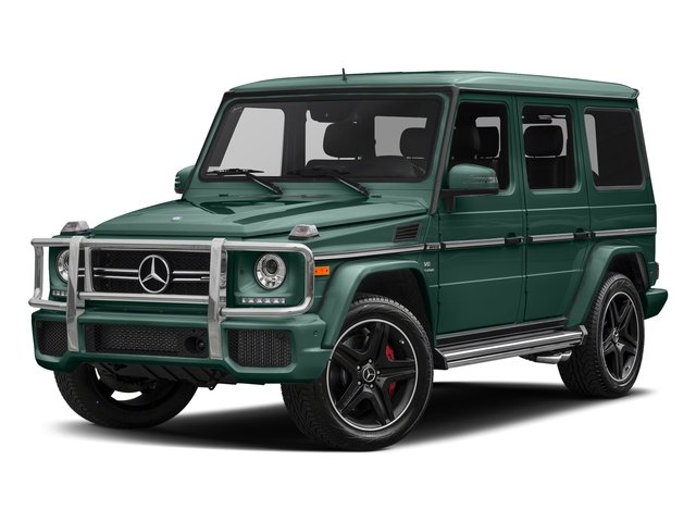designo Manufaktur Agate Green 2018 Mercedes-Benz G-Class Pictures G-Class AMG G 63 4MATIC SUV photos front view