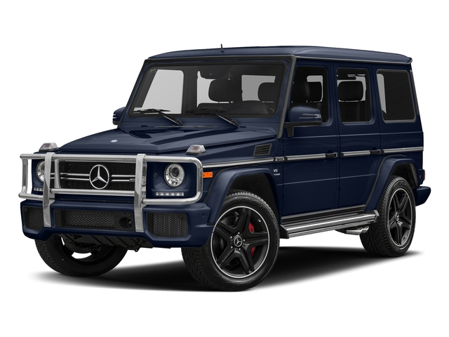 designo Manufaktur Midnight Blue 2018 Mercedes-Benz G-Class Pictures G-Class AMG G 63 4MATIC SUV photos front view