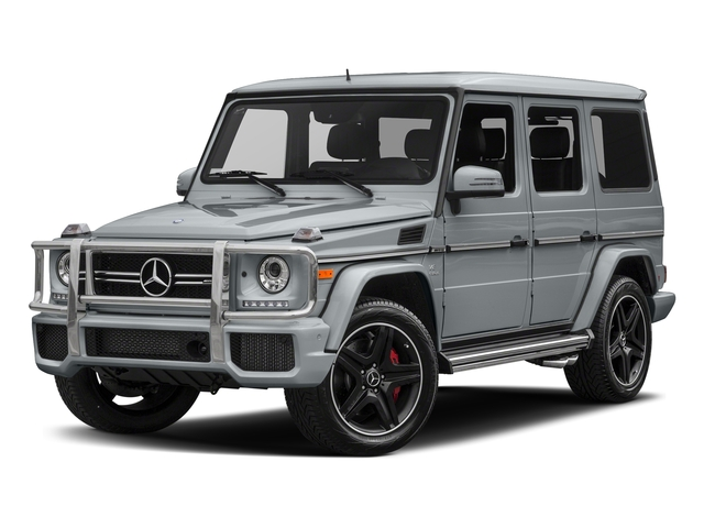 Diamond Silver Metallic 2018 Mercedes-Benz G-Class Pictures G-Class AMG G 63 4MATIC SUV photos front view