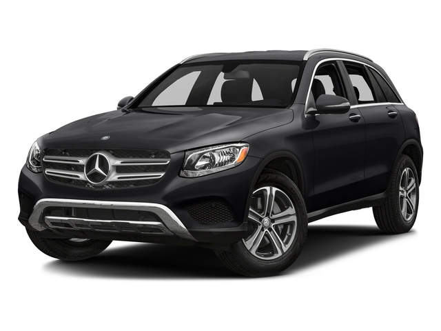 Black 2018 Mercedes-Benz GLC Pictures GLC GLC 300 4MATIC SUV photos front view