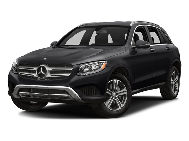 Black 2018 Mercedes-Benz GLC Pictures GLC GLC 300 SUV photos front view
