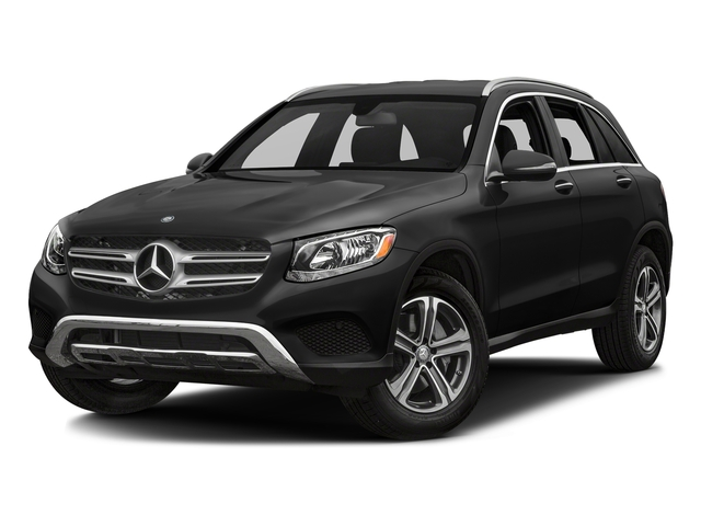 Obsidian Black Metallic 2018 Mercedes-Benz GLC Pictures GLC GLC 300 SUV photos front view