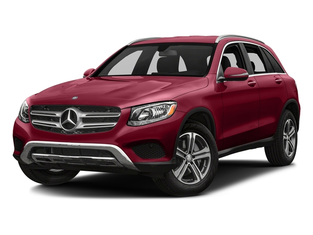 designo Cardinal Red Metallic 2018 Mercedes-Benz GLC Pictures GLC GLC 300 SUV photos front view